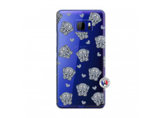 Coque HTC U Ultra Petits Elephants