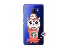 Coque HTC U Ultra Catpucino Ice Cream