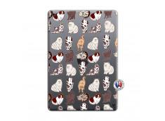 Coque iPad 10.2 Cat Pattern