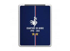 Coque iPad 1 Champions Du Monde 1998 2018 Transparente
