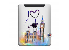 Coque iPad 1 I Love London