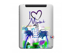 Coque iPad 1 I Love Miami