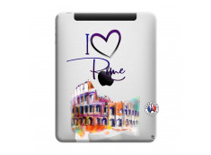Coque iPad 1 I Love Rome