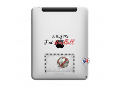 Coque iPad 1 Je peux pas j'ai Handball