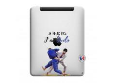 Coque iPad 1 Je peux pas j'ai Judo