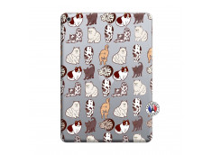 Coque iPad 2018/2017 Cat Pattern