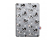 Coque iPad 2018/2017 Cow Pattern