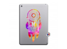 Coque iPad 2018/2017 Dreamcatcher Rainbow Feathers