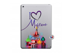 Coque iPad 2018/2017 I Love Moscow