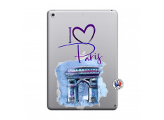Coque iPad 2018/2017 I Love Paris, i love Arc de Triomphe