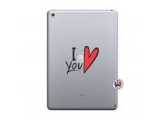 Coque iPad 2018/2017 I Love You