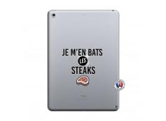 Coque iPad 2018/2017 Je M En Bas Les Steaks