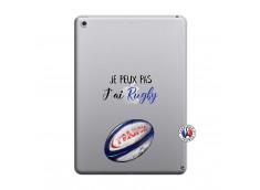 Coque iPad 2018/2017 Je Peux Pas J Ai Rugby