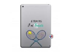 Coque iPad 2018/2017 Je Peux Pas J Ai Tennis