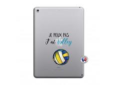 Coque iPad 2018/2017 Je Peux Pas J Ai Volley