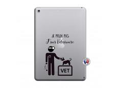 Coque iPad 2018/2017 Je Peux Pas Je Suis Veterinaire