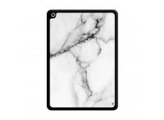 Coque iPad 2018/2017 White Marble Noir