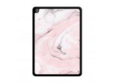 Coque iPad 2018/2017 Marbre Rose Noir