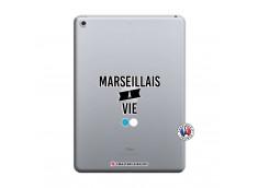 Coque iPad 2018/2017 Marseillais à Vie