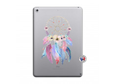 Coque iPad 2018/2017 Multicolor Watercolor Floral Dreamcatcher