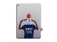 Coque iPad 2018/2017 Papa Super Heros