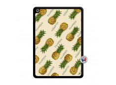 Coque iPad 2018/2017 Sorbet Ananas Noir
