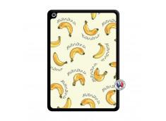 Coque iPad 2018/2017 Sorbet Banana Split Noir
