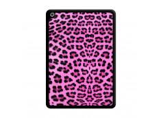 Coque iPad 2018/2017 Pink Leopard Noir