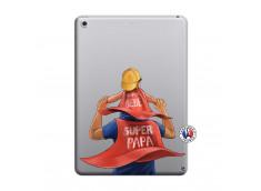 Coque iPad 2018/2017 Super Papa et Super Bébé