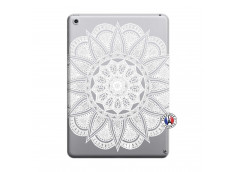 Coque iPad 2018/2017 White Mandala