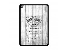 Coque iPad 2018/2017 White Old Jack Noir