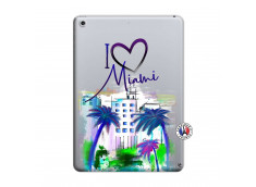 Coque iPad 2018/2017 I Love Miami