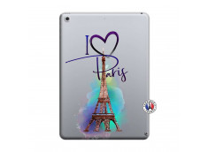 Coque iPad 2018/2017 i Love Paris I Love Paris