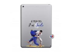 Coque iPad 2018/2017 Je peux pas j'ai Judo