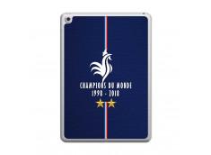 Coque iPad 2018/2017 Champions Du Monde 1998 2018 Transparente