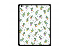 Coque iPad 2 Le Monde Entier est un Cactus Noir