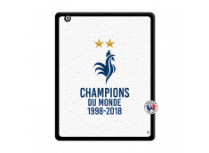 Coque iPad 2 Champion Du Monde Noir