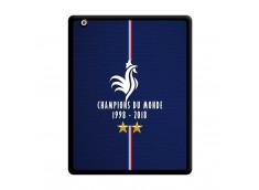 Coque iPad 2 Champions Du Monde 1998 2018 Noire