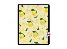 Coque iPad 2 Sorbet Citron Noir