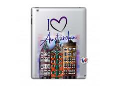 Coque iPad 2 I Love Amsterdam