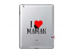 Coque iPad 2 I Love Maman