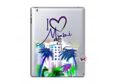 Coque iPad 2 I Love Miami