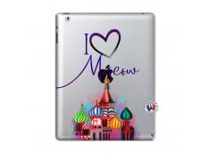 Coque iPad 2 I Love Moscow