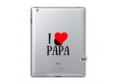 Coque iPad 2 I Love Papa
