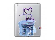 Coque iPad 2 I Love Paris Arc Triomphe
