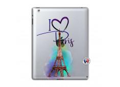 Coque iPad 2 I Love Paris