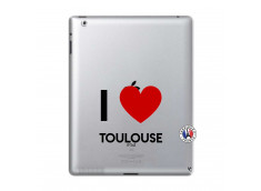 Coque iPad 2 I Love Toulouse
