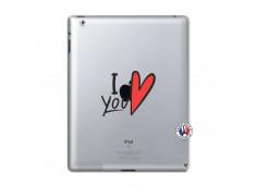 Coque iPad 2 I Love You