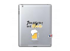 Coque iPad 2 Jamais Sans Ma Blonde