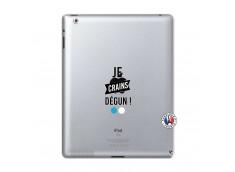 Coque iPad 2 Je Crains Degun